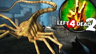LITERALLY THOUSANDS OF XENOMORPHS INVADE CITY, PVP - Left 4 Dead Gameplay