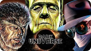 DARK UNIVERSE Movies Preview: What comes after THE MUMMY?