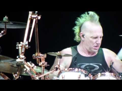 29.04.2011 Moscow Mike Terrana drum solo