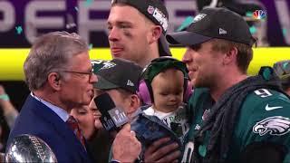 Nick Foles Super Bowl LII MVP Interview | NFL Highlights