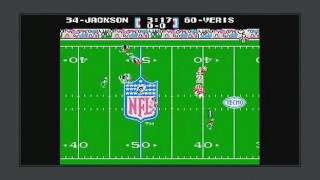 Family Guy - Bo Jackson in Tecmo Bowl