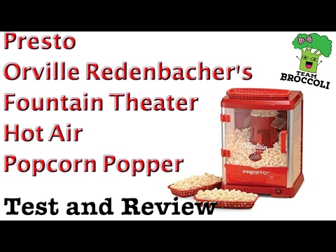 Xxx Mp4 Ep 981 Presto Orville Redenbacher S Fountain Theater Hot Air Popcorn Popper Test And Review 3gp Sex