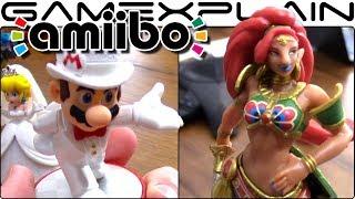 Super Mario Odyssey & Zelda Champions amiibo - Close-Up Look (Mipha, Urbosa, Daruk, & Revali)