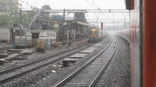 Full Journey on Mumbai Rajdhani Express: Surat-Mumbai High Speed Blast