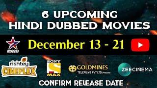 December - 6 Upcoming New South Hindi Dubbed Movies | Rowdy Sarkar | Sammohanam Hindi Dubbed