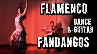 Flamenco dance, Flamenco guitar.  Fandangos  Arleen Hurtado and Ben Woods