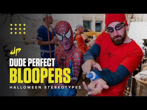 Halloween Stereotypes Bloopers & Deleted Scenes Dude Perfect Plus
