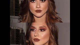 chocolate brown smokey look|Nicole Clp