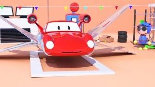 2 Motor mabur kayata Star Wars & Spid si mobil balap   Kartun kanggo anak kaya Lightning McQueen