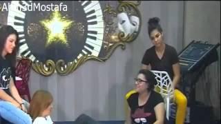 مشهد تمثيل بين ابتسام وكنزة وغادة وليا في حصة بيت