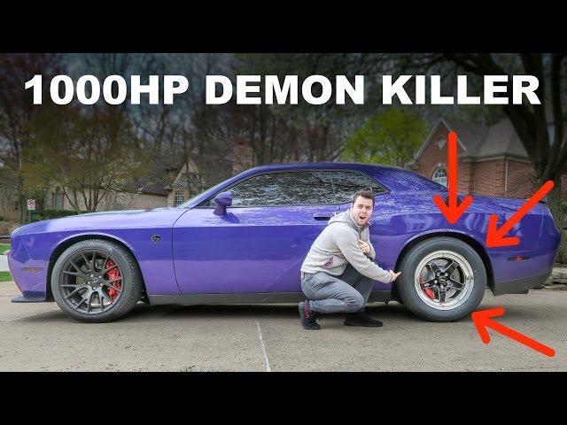 Driving My Friend's 1000HP+ Hellcat!!! DEMON KILLER??