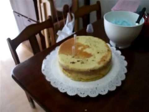 Montando um bolo de andar
