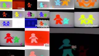 (VERY LOUD) 25 Noggin And Nick Jr Logo Collection in G Majors