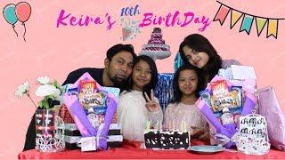 HAPPY BIRTHDAY KEIRA ♥♥♥ KEIRA'S 10th BIRTHDAY PARTY