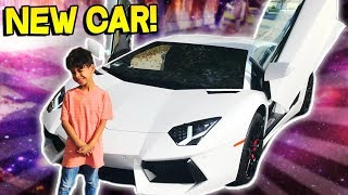 6 Year Old Gets Picked Up From School In A New Lamborghini Aventador