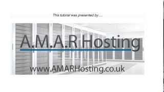 Configure Thunderbird with A.M.A.R Hosting Shared Web and Email POP3 Email Account