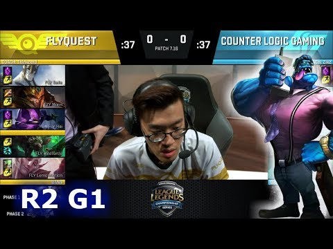 Xxx Mp4 FlyQuest Vs CLG Game 1 Round 2 NA LCS Regional Qualifier For S7 Worlds 2017 FLY Vs CLG G1 3gp Sex