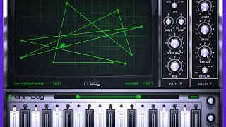 Animoog, Making Clock Sounds And Understanding The XY Screen