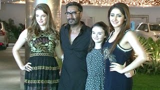Shivaay Diwali Party | Ajav Devgan, Sayesha Saigal, Erika Kaar