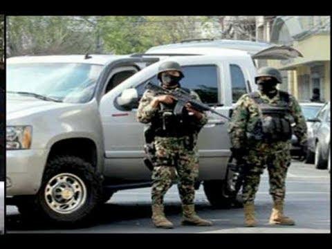 Fuerte Balacera en Vivo Entre Soldados y Sicarios En Cerralvo Nuevo Leon 6 Sicarios Muertos