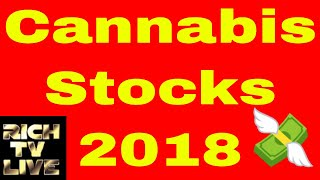 Cannabis Stocks 2018