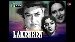 Dil Ki Dhadkan Pe | Lakeeren 1954 |  Talat Mahmood
