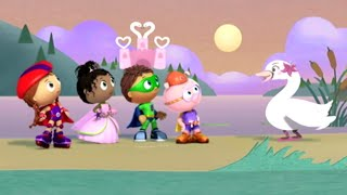 Super WHY! Full Episodes English ✳️  The Swan Maiden ✳️  S01E47 (HD)