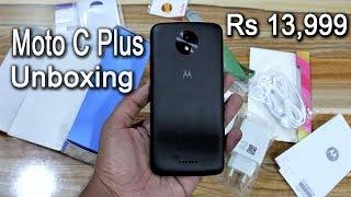 Motorola Moto C Plus Unboxing   14000 main 4000mah