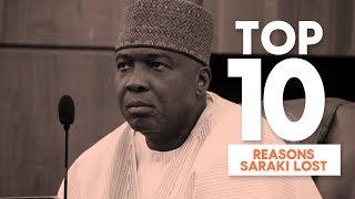 Top 10 Reasons Why Bukola Saraki Lost