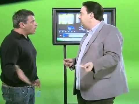 Alexandre Frota se irrita com Zé Américo e derruba cenário em gravação no SBT.