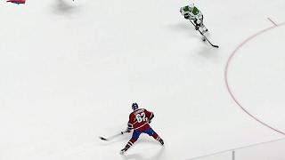 Lehkonen vs. Lehtonen: Canadiens winger fires clapper past Stars goalie