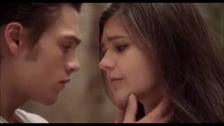 Amber Frank/Dylan Sprayberry Kissing Scene (Vanished 2016 Movie)
