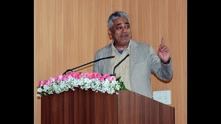 Rajdeep Sardesai Anti BJP Speech at Delhi University on Relevance of Gandhi in Today