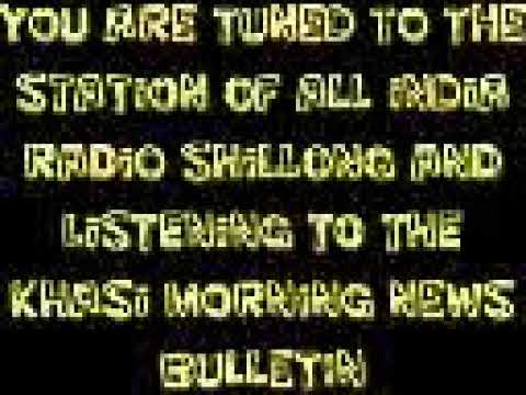 Xxx Mp4 KHASI NEWS BULLETIN FROM THE SHILLONG STATION OF ALL INDIA RADIO 22 01 19 3gp Sex