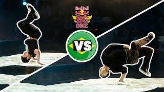 Mounir vs Differ - FINAL BATTLE - Red Bull BC One Rio de Janeiro 2012