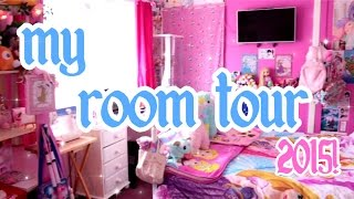 ♡ My Kawaii Disney-fied Room Tour 2015~! ♡ | Abipop