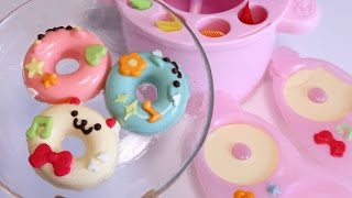 No-Bake Soft Doughnuts Maker / New Cooking Toy