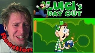 LUIGI'S DAY OUT REACTION!   OH MAMA MIA!  