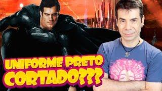 O UNIFORME PRETO DO SUPERMAN FOI CORTADO DO FILME DA LIGA | A CULPA É DO ZACK SNYDER???