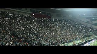 Bursaspor - Beşiktaş Tribün Şov Hep Beraber Bursa Spor HD