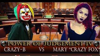 CFW Power Of Judgement IV  - Crazy-b vs Mary