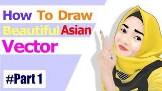 Beautiful Vector - Digital Art Design CorelDRAW Graphic Suite X7 #Part1