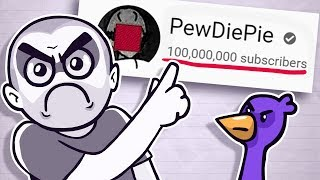 Why Pewdiepie NEEDS To Hit 100 Million Subs!