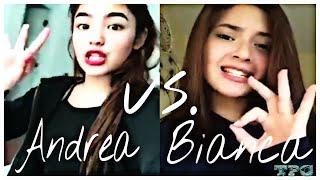 Andrea Brillantes vs. Bianca Umali Musical.ly Part 2