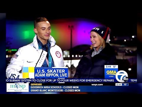 Adam Rippon Answers The Question Would You Meet With VP Pence GMA