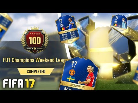 DOUBLE WALKOUT TOP 100 FUT CHAMPS REWARDS! - FIFA 17 Ultimate Team