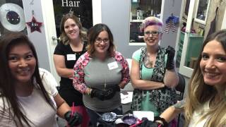 The Hair Doo Chick West Coast bound!  Colormelting , corrugated  and hair painting balayage