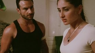 Kareena with Saif in his room | Agent Vinod