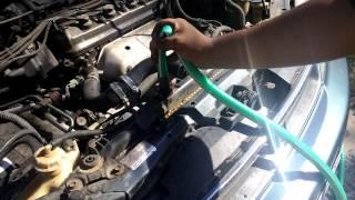 How to Flush Your Radiator Quick: 96 Honda Accord