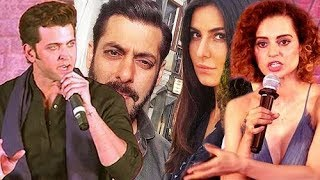 Salman & Katrina Takes SELFIE, Hrithik Gets HYPER On Media After Questions On Kangana